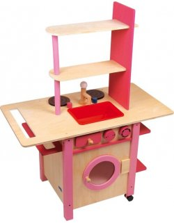 "Cocina ""All in One"", rosa"