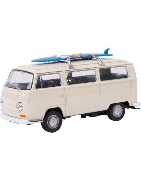 "Coche Modelo ""VW Bus T2 con tabla de surf"""